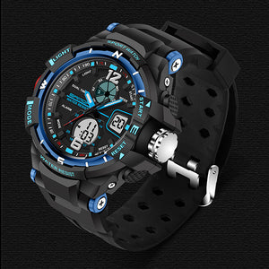 LED design casual sports men watch
