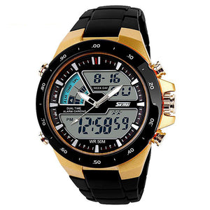 Fashion LED Digital Mens Sport Wristwatches