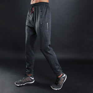 Male Fitness Loose Breathable Feet Pants