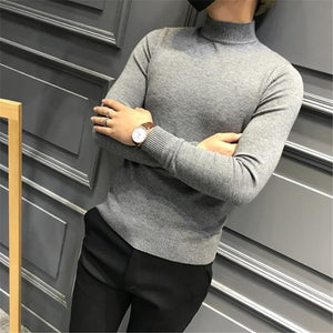 Fashion Youth Casual Sport Thermal Slim Plain Long Sleeve Top