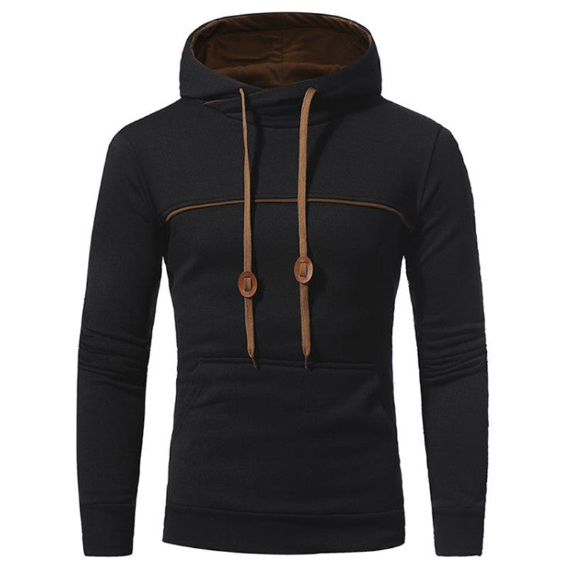 Fashion Casual Sport Slim Plain Hoodie