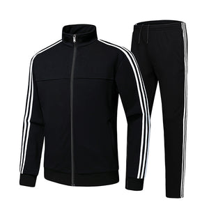 Casual Stand Collar Running Sports Suit