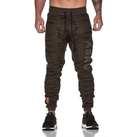 Men's Casual Slim Pocket Sports Running Pants