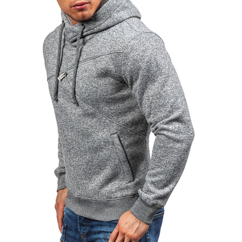 Men's Casual Pullover Hooded Sweatshirt