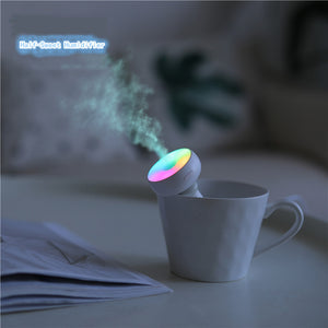 Mini portable usb small silent donut humidifier