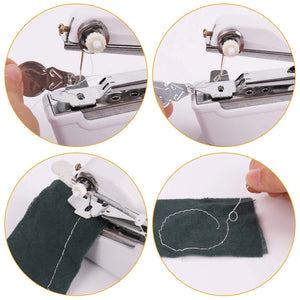 Handheld portable small pocket electric sewing machine