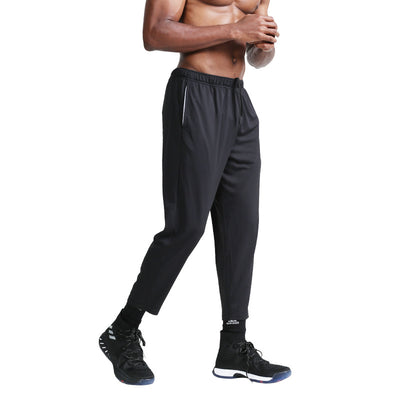 Casual Straight Leg Track Pants Quick - dry Fitness Pants