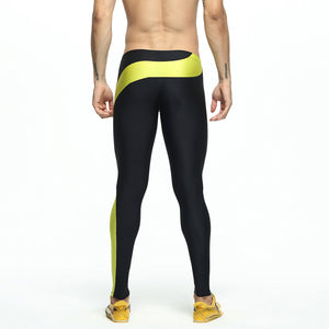 Men's sports outdoor stretch tights
