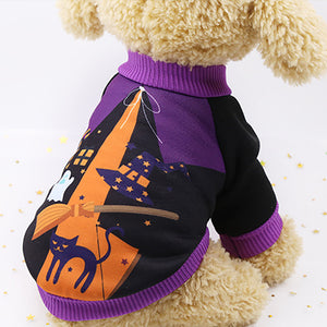Fashion Halloween Carnival Funny Pet Clothes