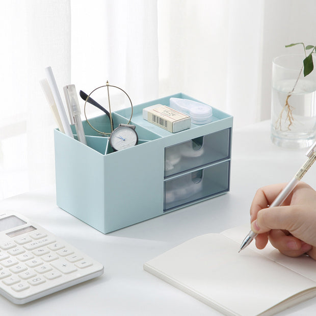 Desktop Storage Box Simple Drawer Plastic Storage Box