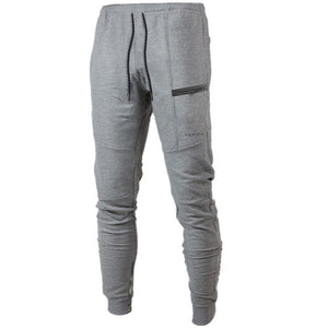 Men Loose Breathable Cuff Casual Sports Stretch Pants