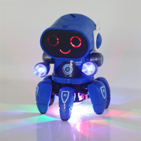 Electric Light Music Toy Robot