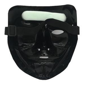 Halloween Christmas Cold Light V-Vendetta Party Mask