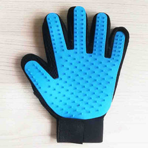 Rubber Pet Cleaning Hair Gloves