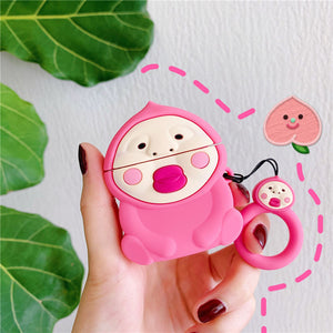 Cartoon AirPods Wireless Bluetooth Earphone Storage Silicone Case