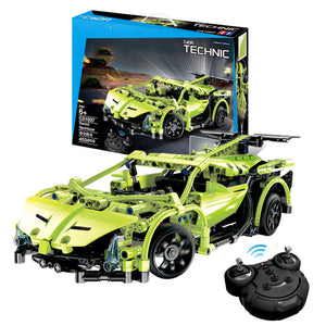 Remote Control Sports Car Police Car Lego Toys