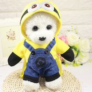 Pet Cute Cartoon dog or cat clothes