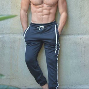 Men's Casual Drawstring Sport Pants