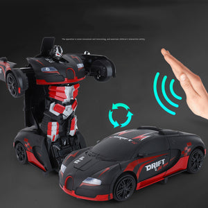 2019 Funny Transformers Remote Control Deformation Car