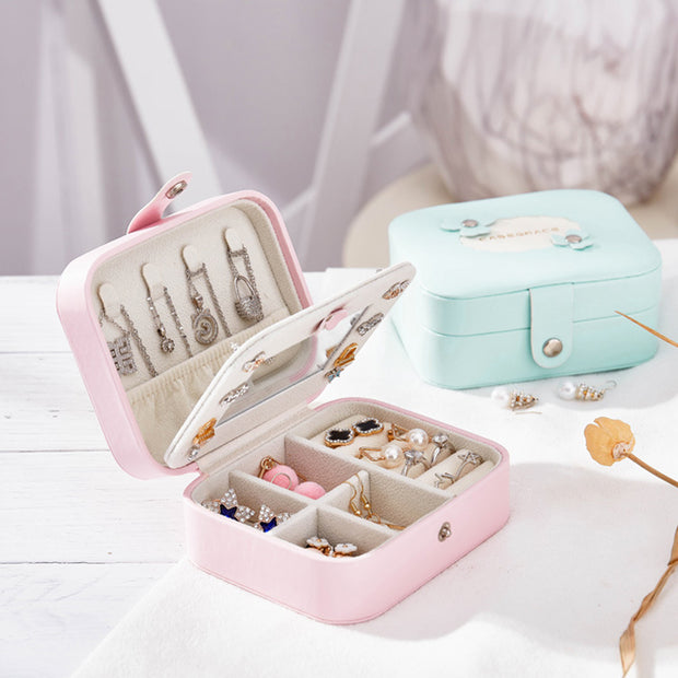 Jewlly Storage Box Leather Finishing Box
