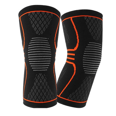 Knitting sports breathable knee pads