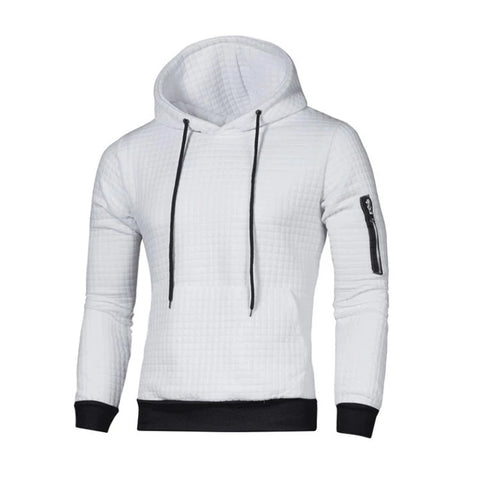 Multicolor Casual Men Sport Hoodies