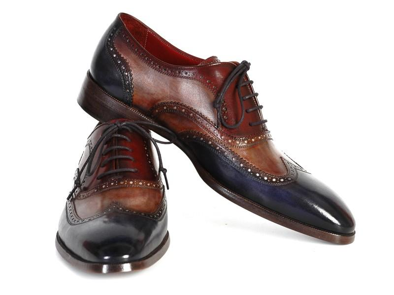 THREE TONE WINGTIP OXFORDS | Carredex