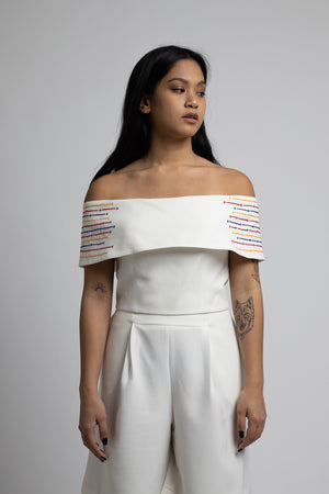 Malika Off-Shoulder Crop