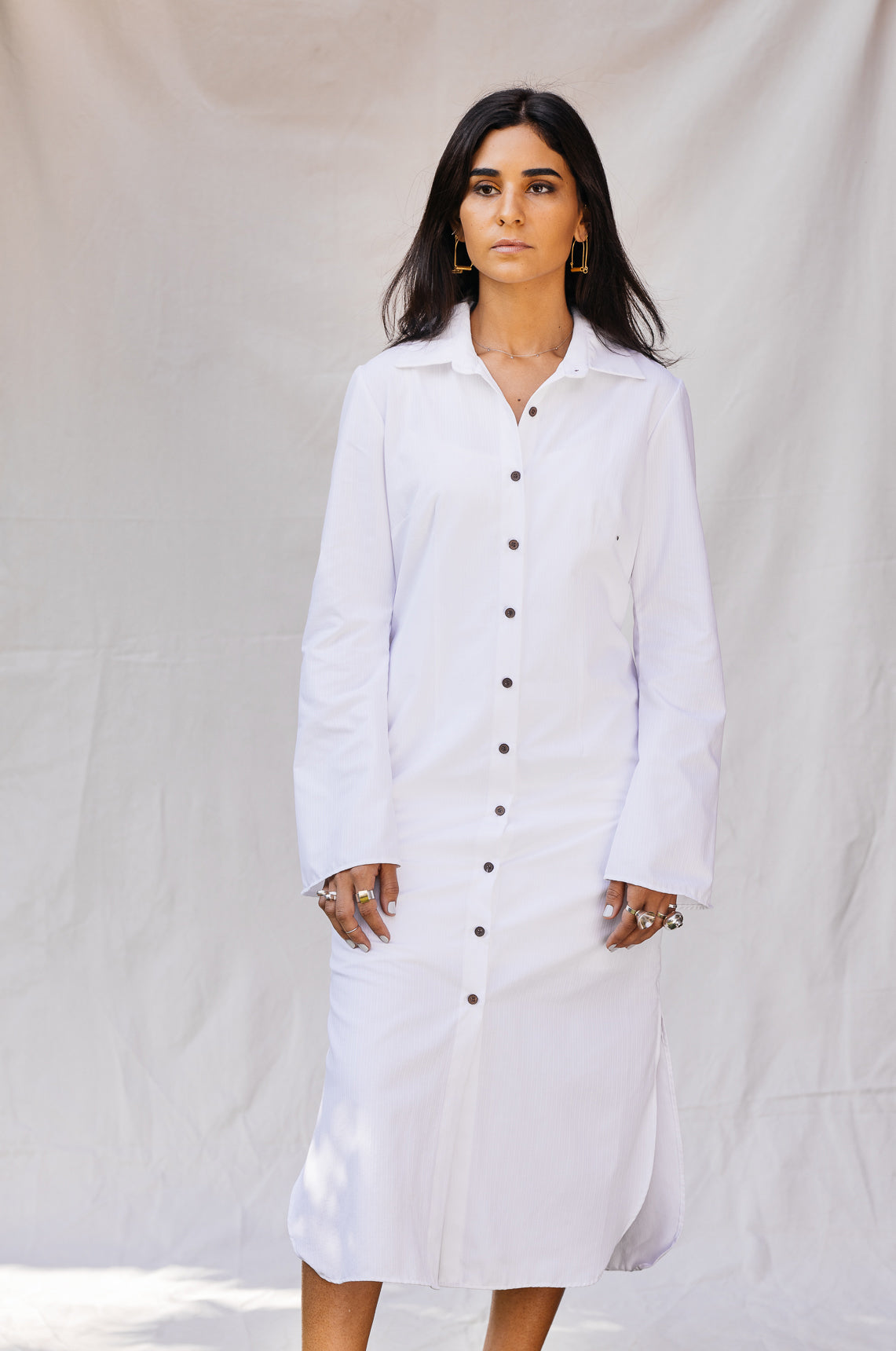 The Youmi Shirt Dress