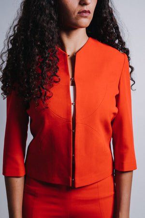 Open image in slideshow, The Abena Crop Jacket