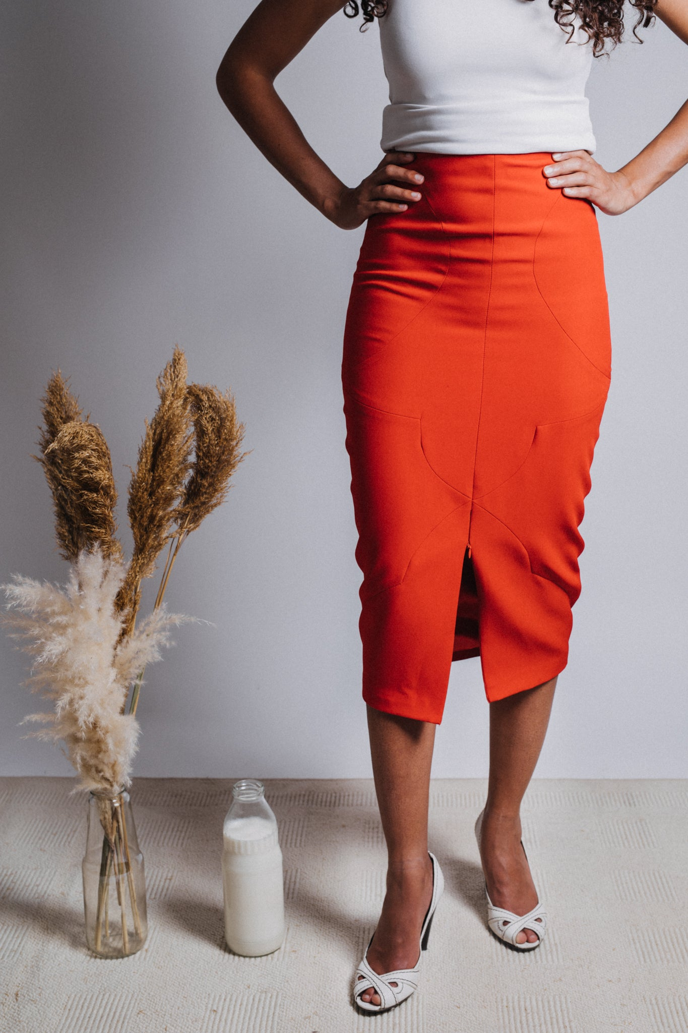 The Arabesque Pencil Skirt
