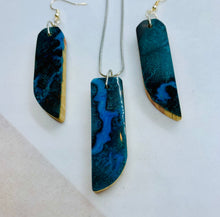 Load image into Gallery viewer, Running River Necklace & Earrings Set