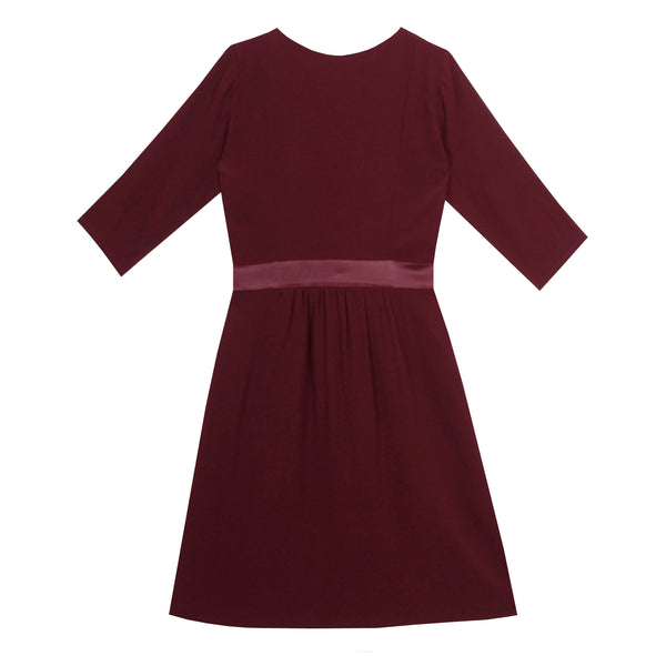 Robe bordeaux - GLADYS