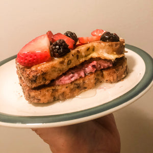 Southern Rose Stuffed French Toast