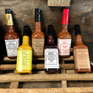 Jimbo's Smokehouse Sauces- Large 750 ML