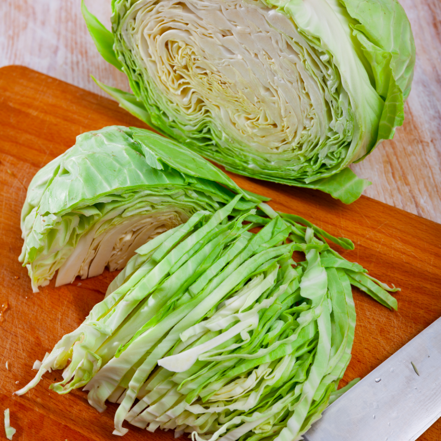 Cabbage, One Head