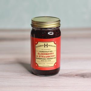 Harbin Hollow Elderberry & Strawberry Superfood Preserves - 8 ounces
