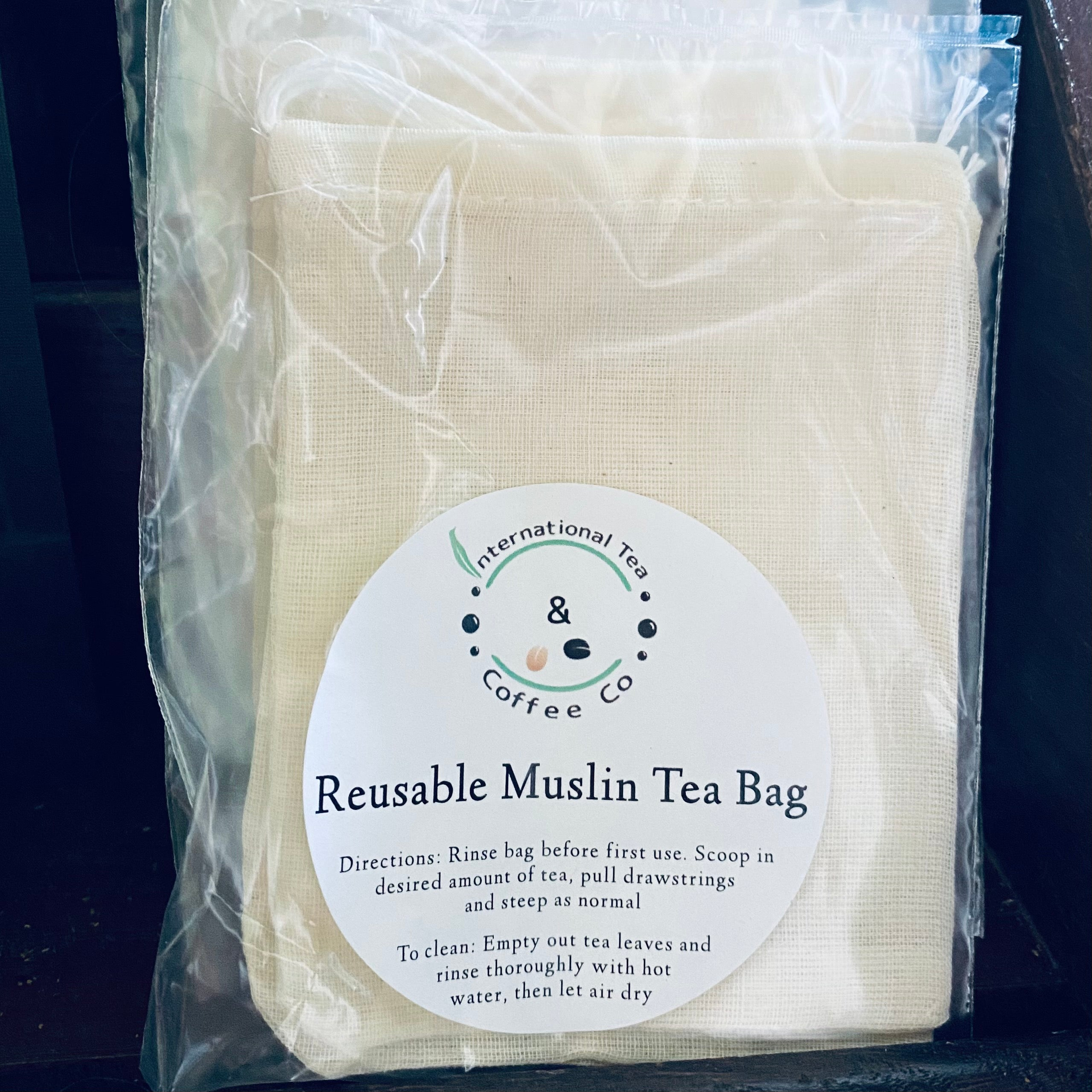 Tea Bags, Reusable