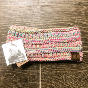 C.C Adult Cable Knit Headband