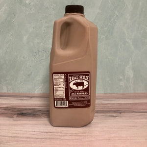 Tennessee Real Milk- Half Gallon Chocolate Milk