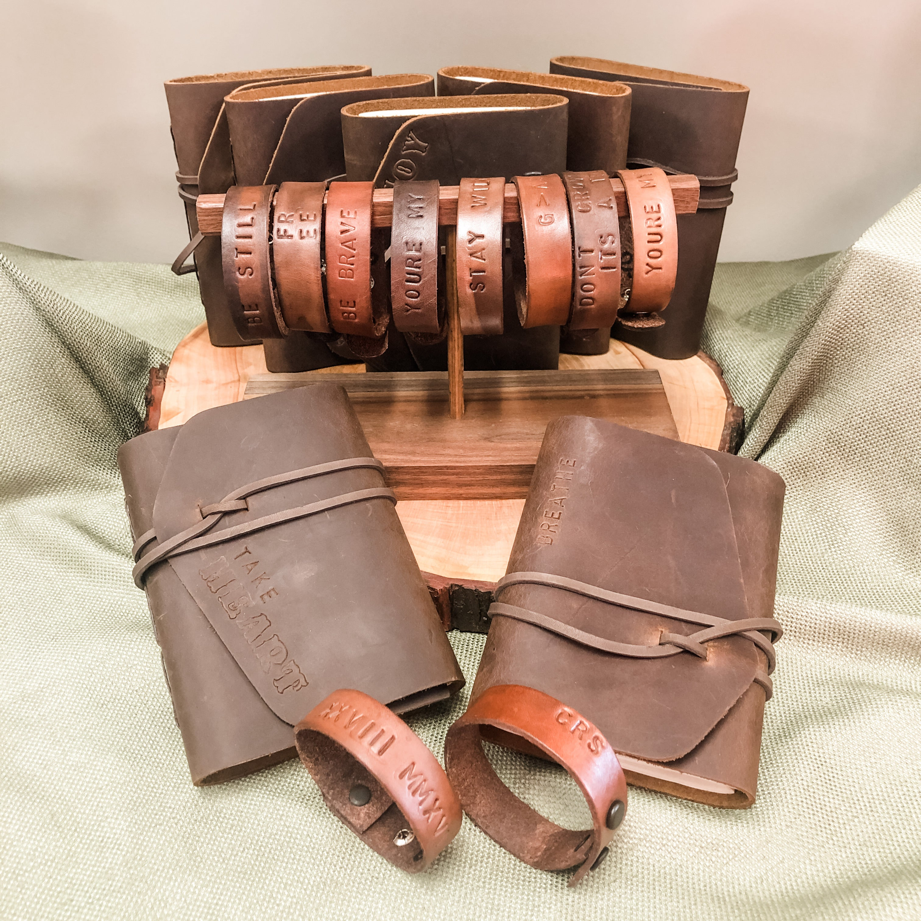 Beauty for the Nations- Handmade Leather Gifts