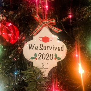 Ornament- We Survived 2020
