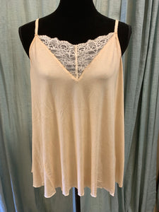 LACE CAMI IN CHARCOAL, SAGE OR HONEY GOLD