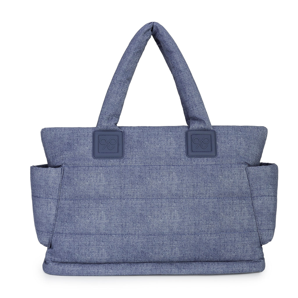 Airy Nappy Bag - L Tote - Denim Blue