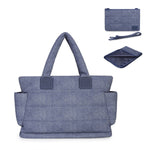 Airy Nappy Bag - L Tote Bundle - Denim Blue