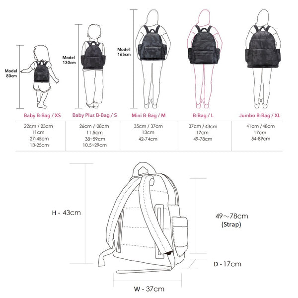 Airy Nappy Bag - L Backpack Bundle - Toothound