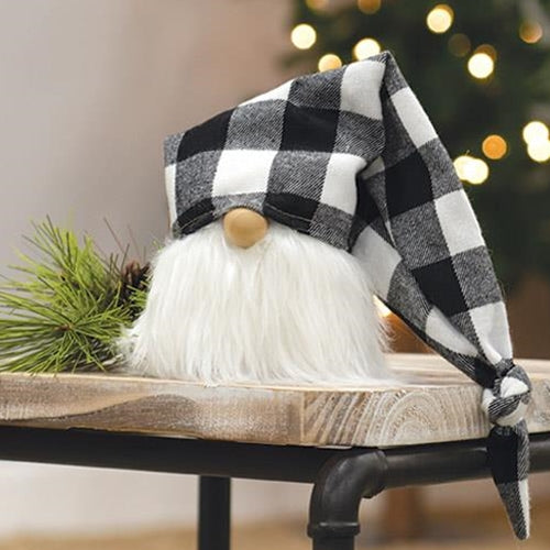 White Buffalo Check Cap Gnome