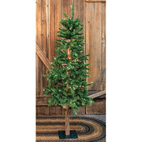 Pre-Lit Alpine Tree 5ft