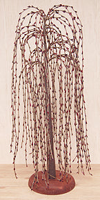 ^Pip Weeping Willow Tree - Burgundy - 18 Inch