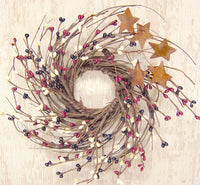 "10"" Country Mix Pip & Twig Wreath"